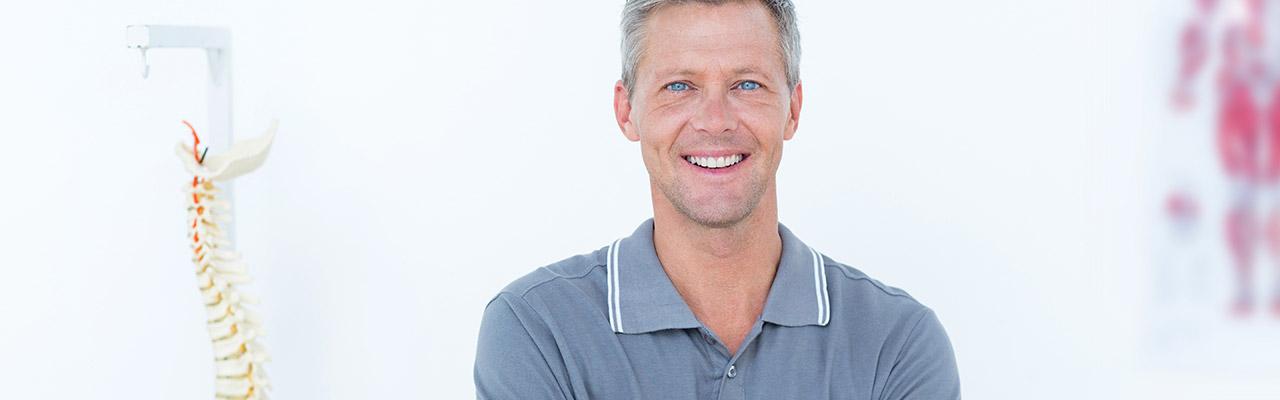 DAGC Verband Chiropraktik Mann