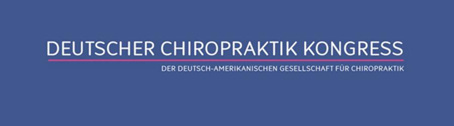 Deutscher Chiropraktik Kongress der DAGC